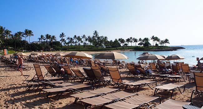 アウラニのビーチ画像