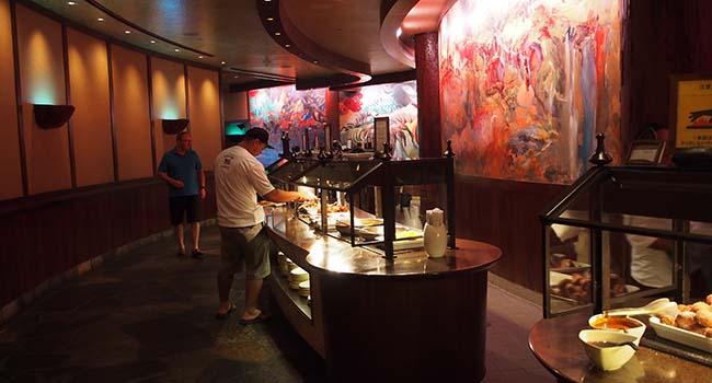 アウラニのレストラン朝食画像