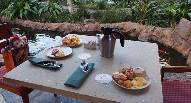 アウラニの朝食画像2