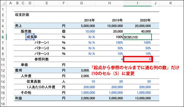 エクセルのOFFSET関数のブログ_画像21