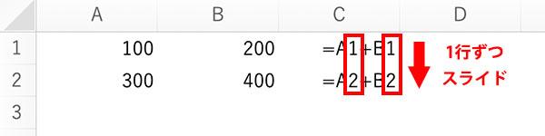 エクセルの相対参照と絶対参照のブログ_画像3