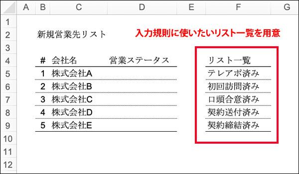 エクセルの入力規則のブログ_画像2