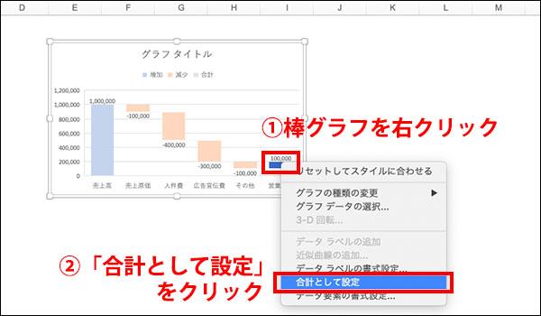 エクセル_滝チャートの作り方ブログ_画像28