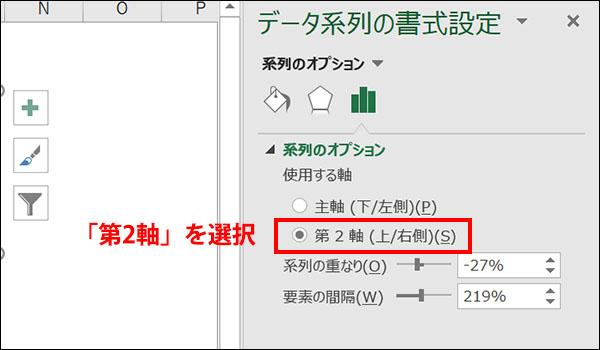 エクセルの縦軸を省略したグラフの作り方_画像8