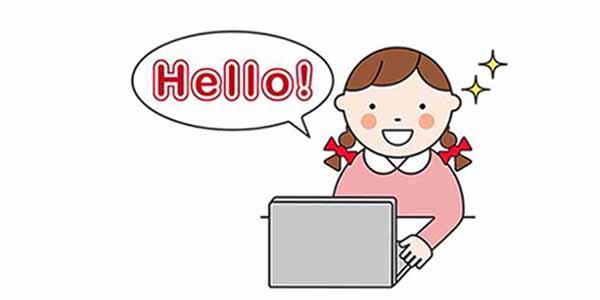 オンライン英会話_最初の会話_アイキャッチ画像